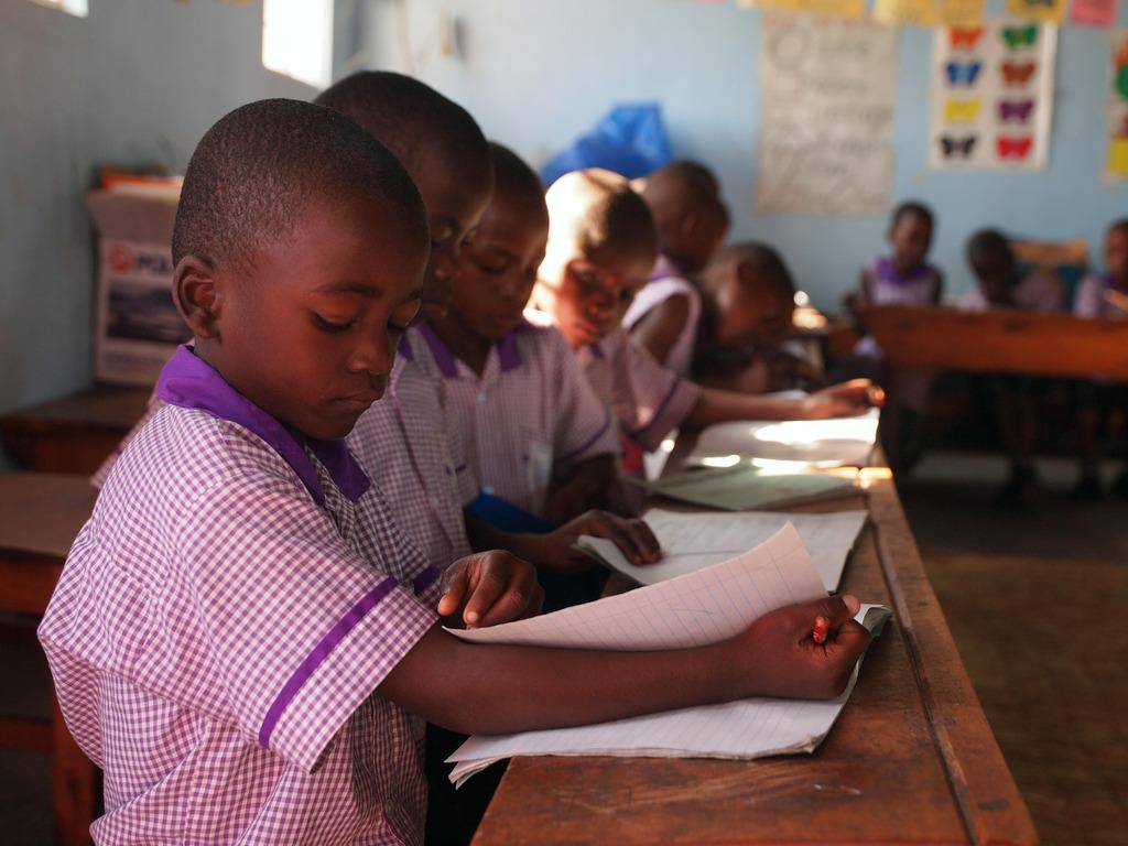 Nyaka Students in Class