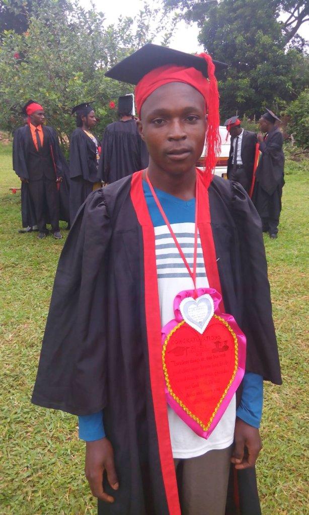 Steven at his graduation