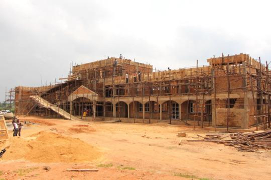YOUR secondary school building in progress