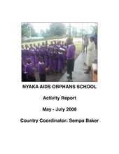 Nyaka May-July 08 Report (PDF)