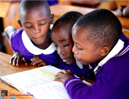 Nyaka Students Learning