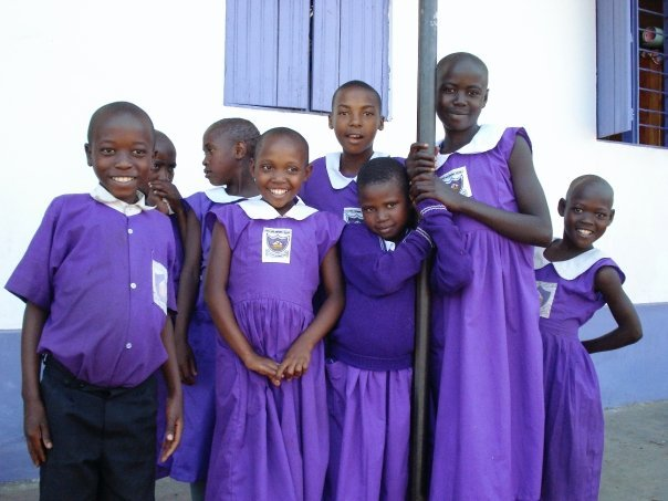 Nyaka Primary School Students