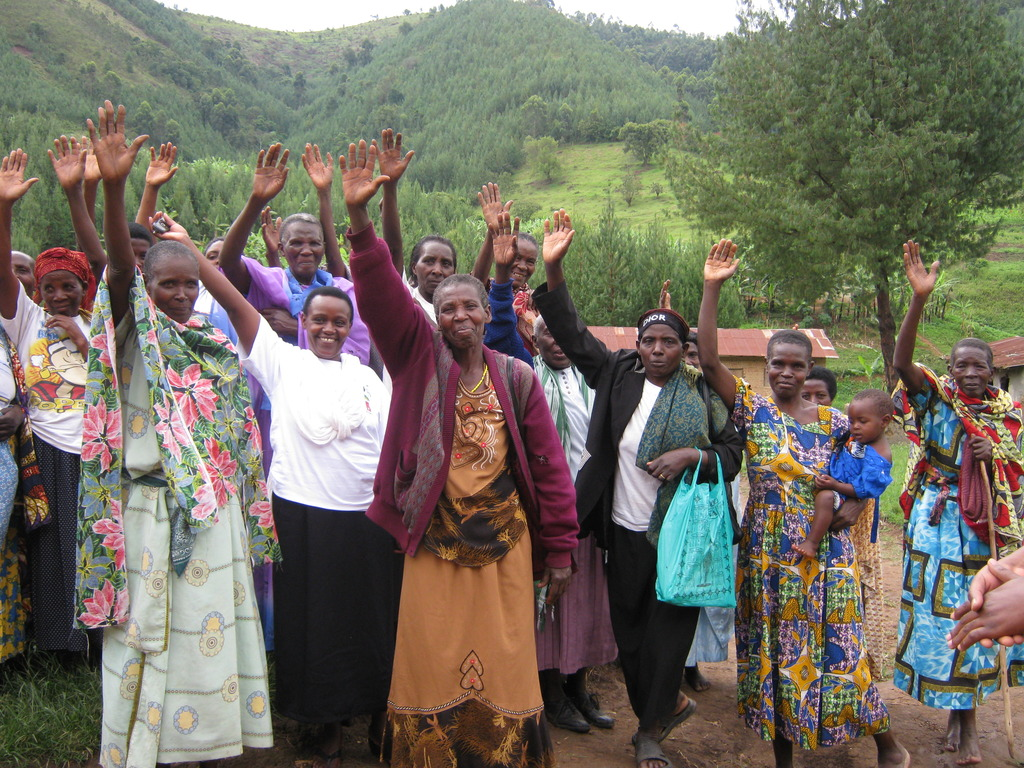 Grandmothers Who Care for Kutamba Orphans