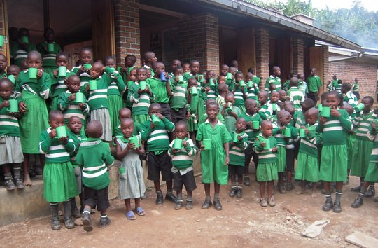 YOUR children at Kutamba School