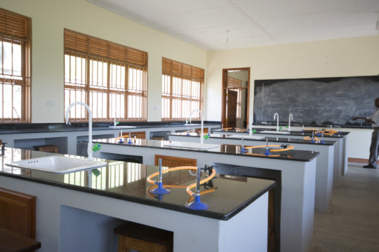 Empty Chemistry Lab