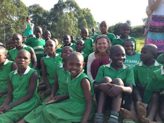Kelly in Uganda