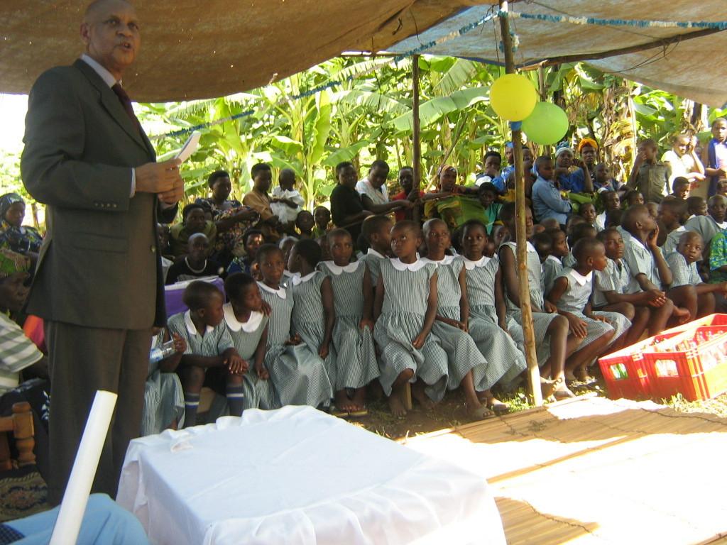 Photo 3 -- New pupils in uniform