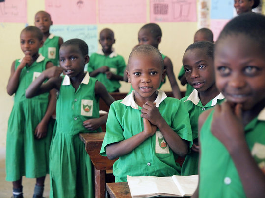 Kutamba Primary Students In Class