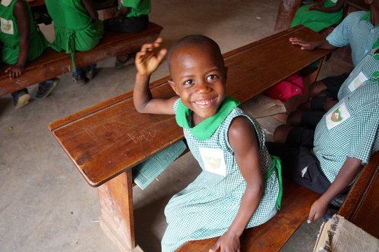 Kutamba Primary Student Smiling