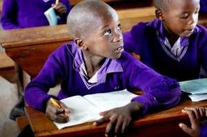 Nyaka student in class