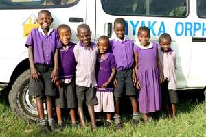 Nyaka Primary 1 Students