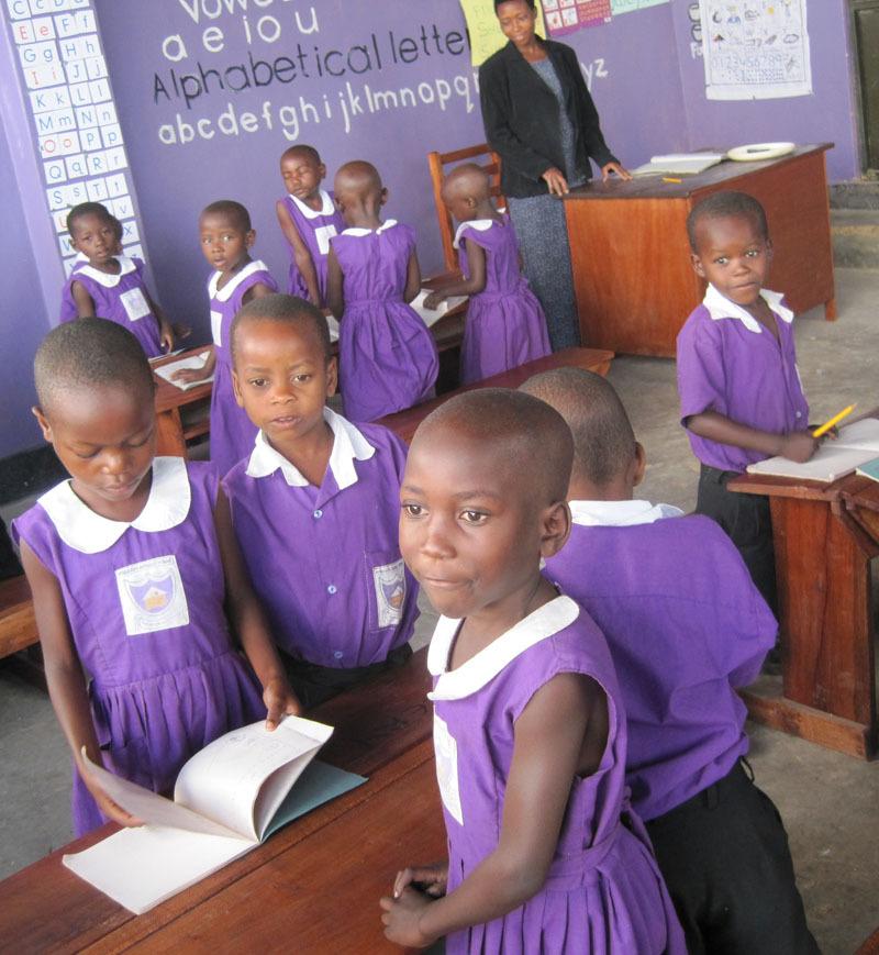 Nyaka Preschool Students