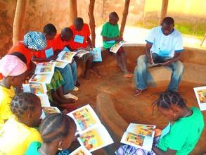 Reading UNICEF's Bouba and Zaza series
