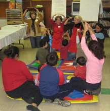 Working with a children's project