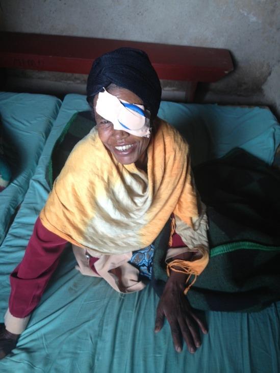 Cataract Surgery Brings Joy