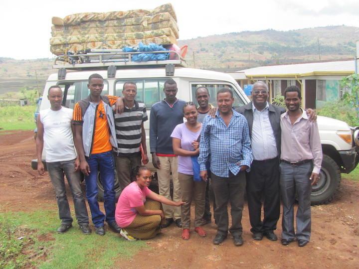 Mossy Foot Ethiopia Team