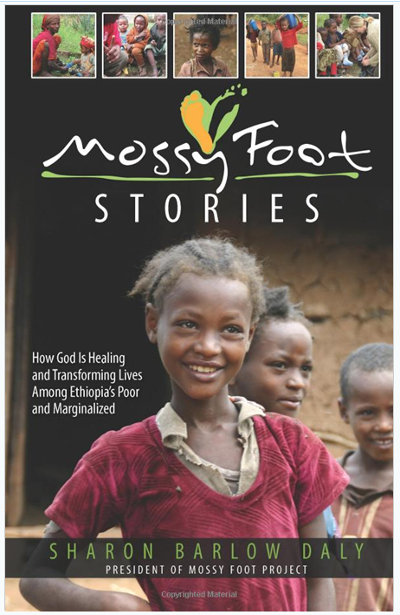 """Front cover """"Mossy Foot Stories"""""""