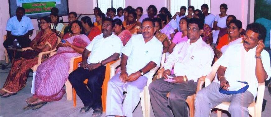 Promotion of organic farming in Thoothukudi, India
