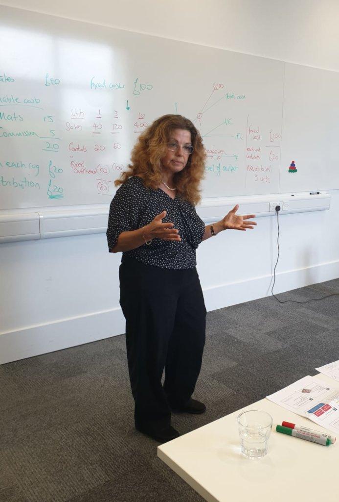 Professor Ruth Bender (Cranfield) teaching Finance