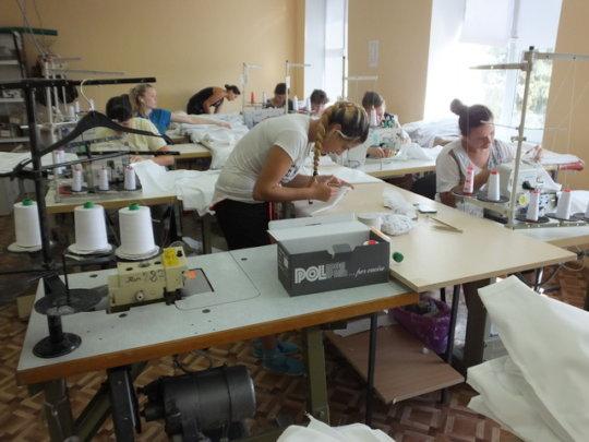 Sewing Venture in Moldova