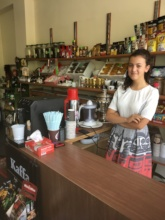 Cafe in Armenia