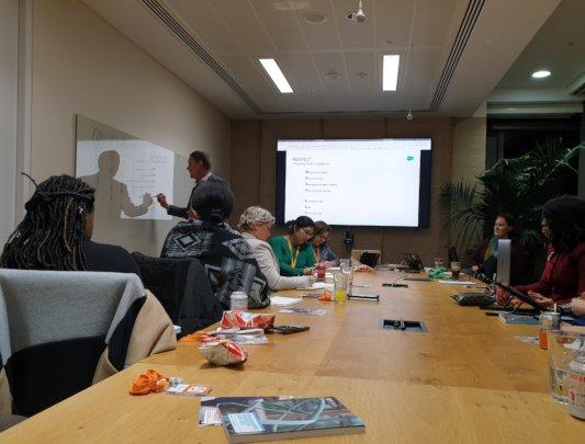 Negotiation Seminar at Salesforce London