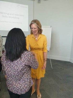Amanda Pelham Green's CV and Interview Session