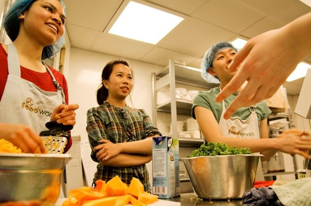 Reclaim food and serve tasty meals with FoodCycle!