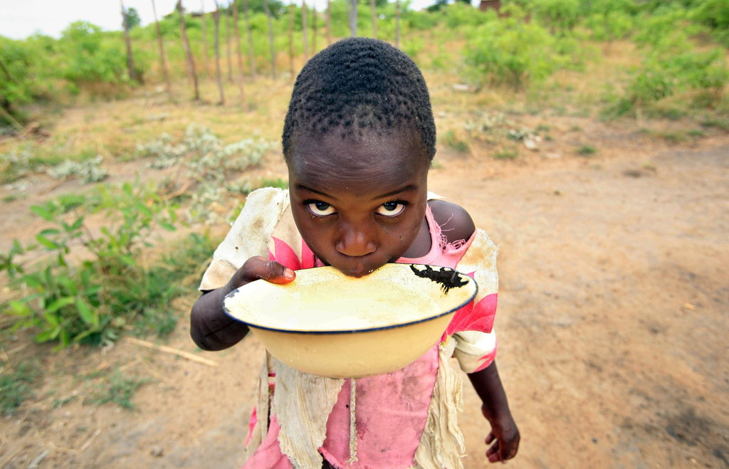 Clean water project for people in rural Malawi