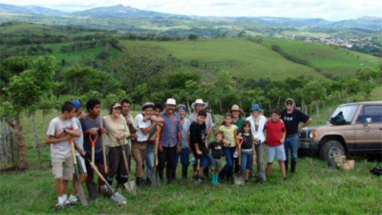Kiki Biological Corridor - Planting Day