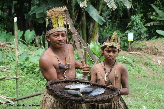 Maleku cultural festival...fish anyone?