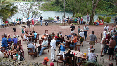 Fundraiser Barbecue in Costa Rica for project