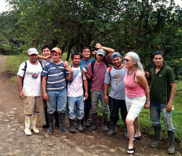 The planting team who planted Marvin's in Dec 2011