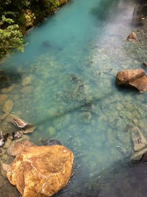 Rio Celeste, the turquoise river