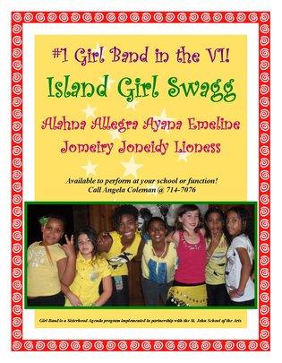 Girl Band Poster