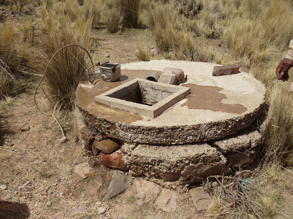 Old open well used by Vilaque families.