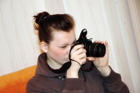 Introducing orphans to the world of photography