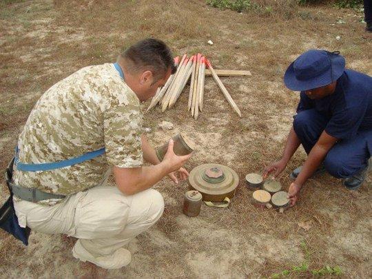 Landmines in Angola