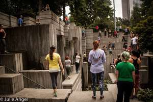 North American Women's Parkour Jam at Freeway Park