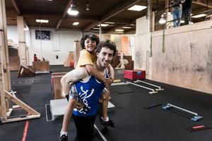Coach Ari and Finja