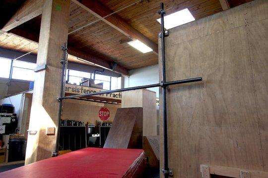 adjustable height high bar!