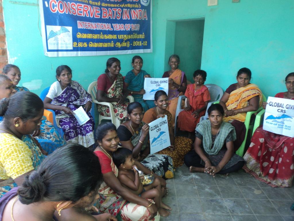 CONSERVATION TRAINING FOR  FARMER WOMEN