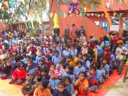 Let's Support a School for 125 Children in India!