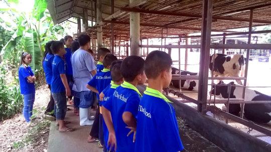 Visit at Chai Lee Farm
