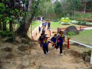Field trip to Pong Phrabat Waterfall
