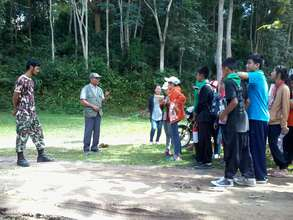 Pre-Trek Lecture by Rangers at Nature Conservatory