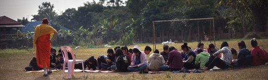 Buddhist Ethics Training at the Half Day School