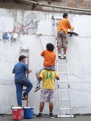 Making graffitti