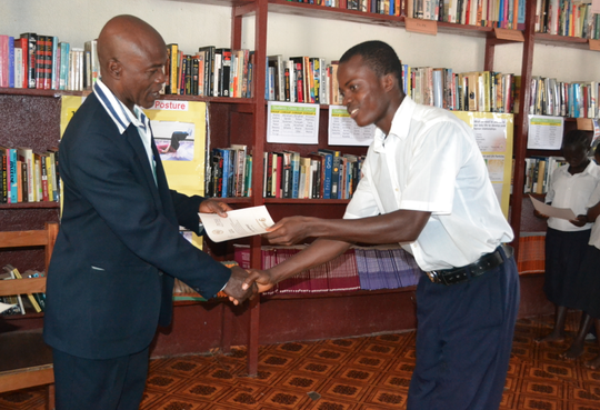 Receiving certificates from the principal