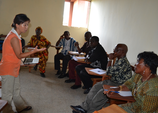 BE workshop at the University of Liberia